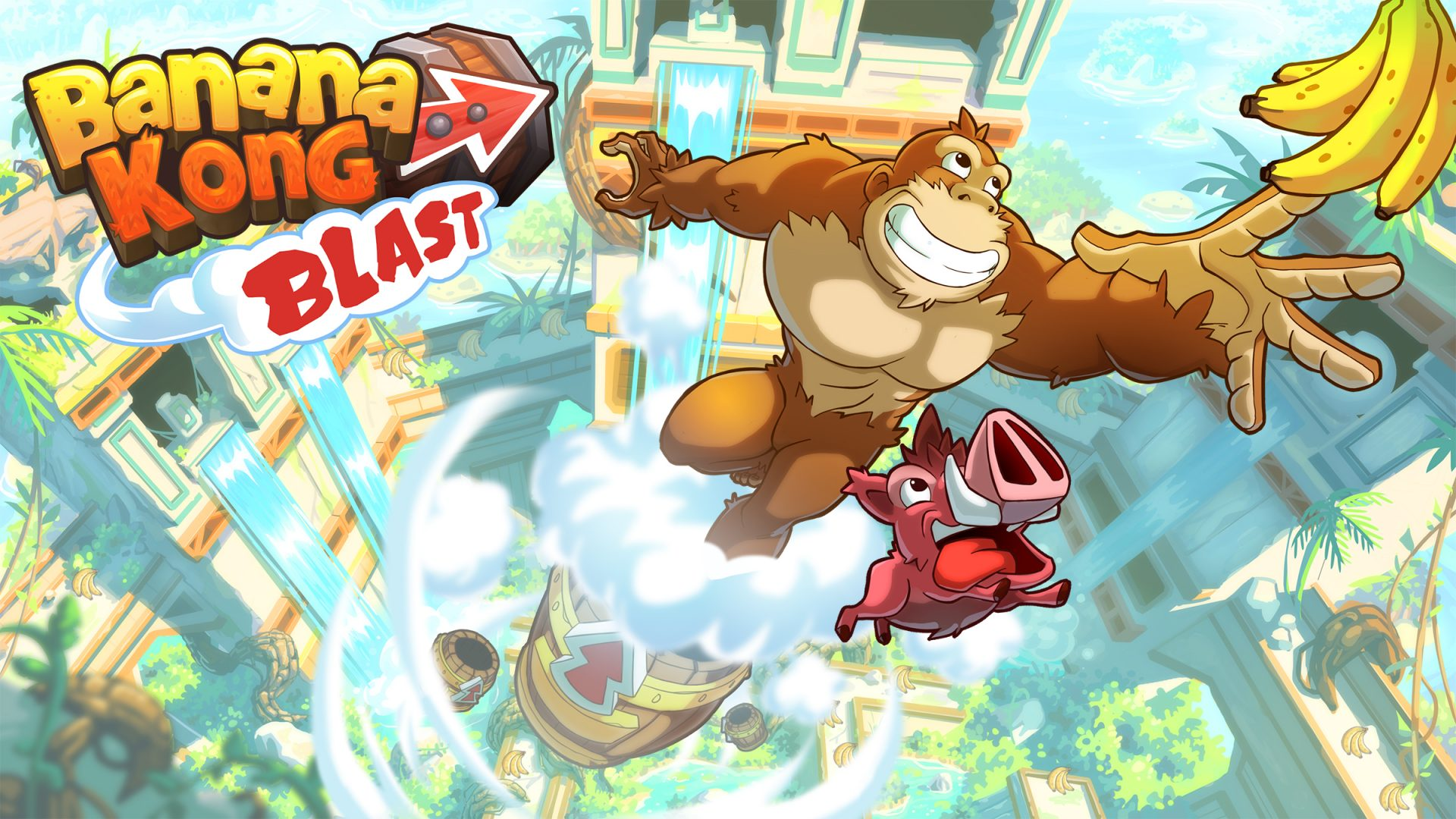 Banana Kong Blast